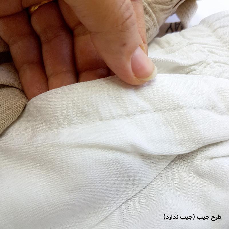 دامن شلواری نخپنبه طرح جیب سایز 48
