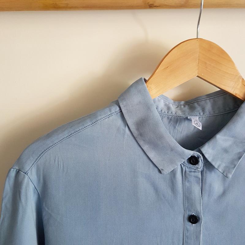 پیراهن نخ پنبه طرح لی