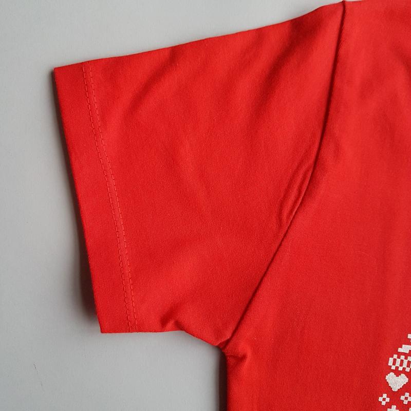 تیشرت طرح قلب ولنتاین سایز ۲XL