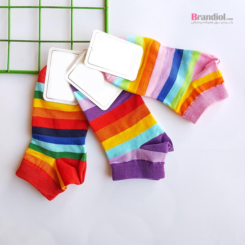 جوراب مچی هفت رنگ زنانه