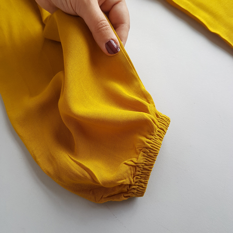 پیراهن ساحلی آستین بلند نخی زنانه 43254