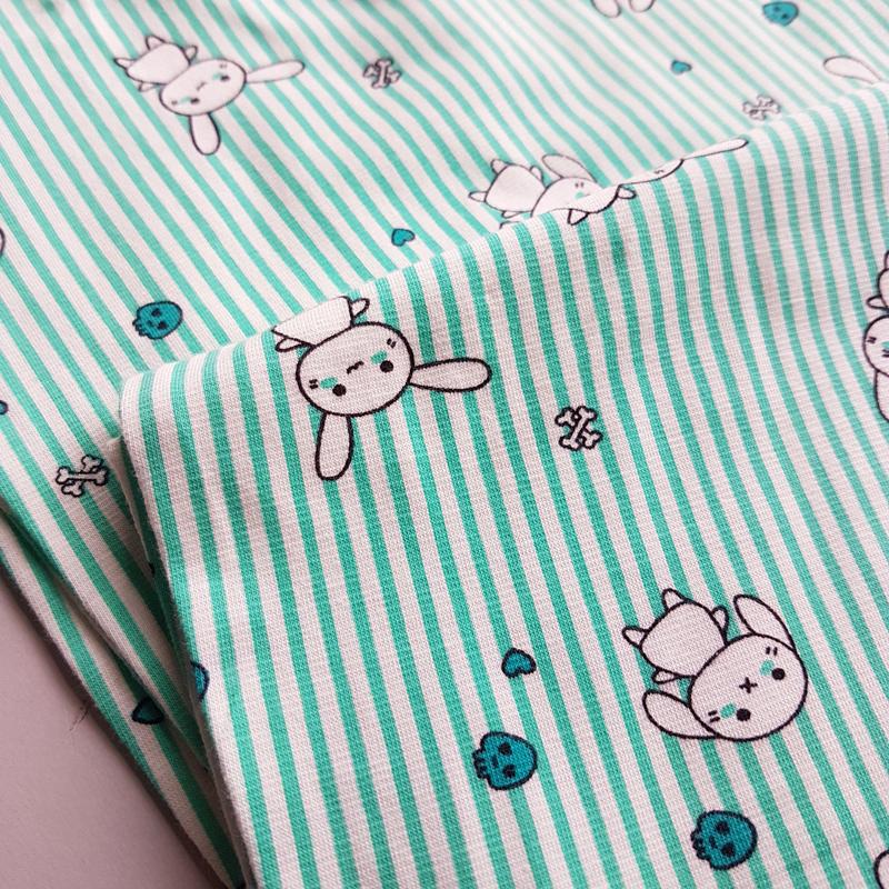 ست راحتی بلوز و شلوار زنانه طرح خرگوش 44624
