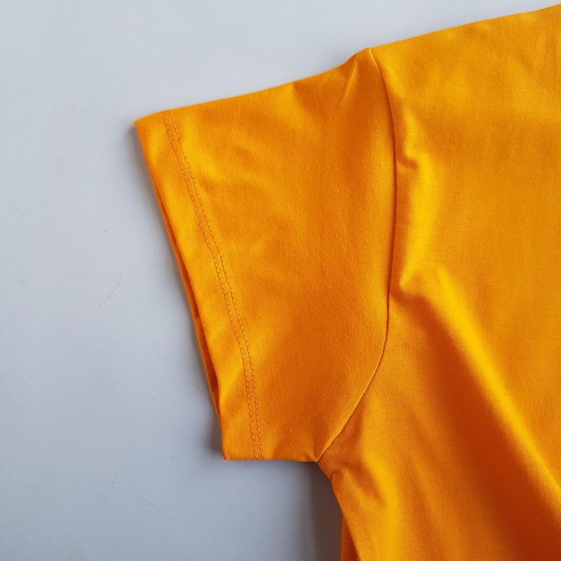 تیشرت زنانه جلو گرهی گلدوزی پروانه 47821