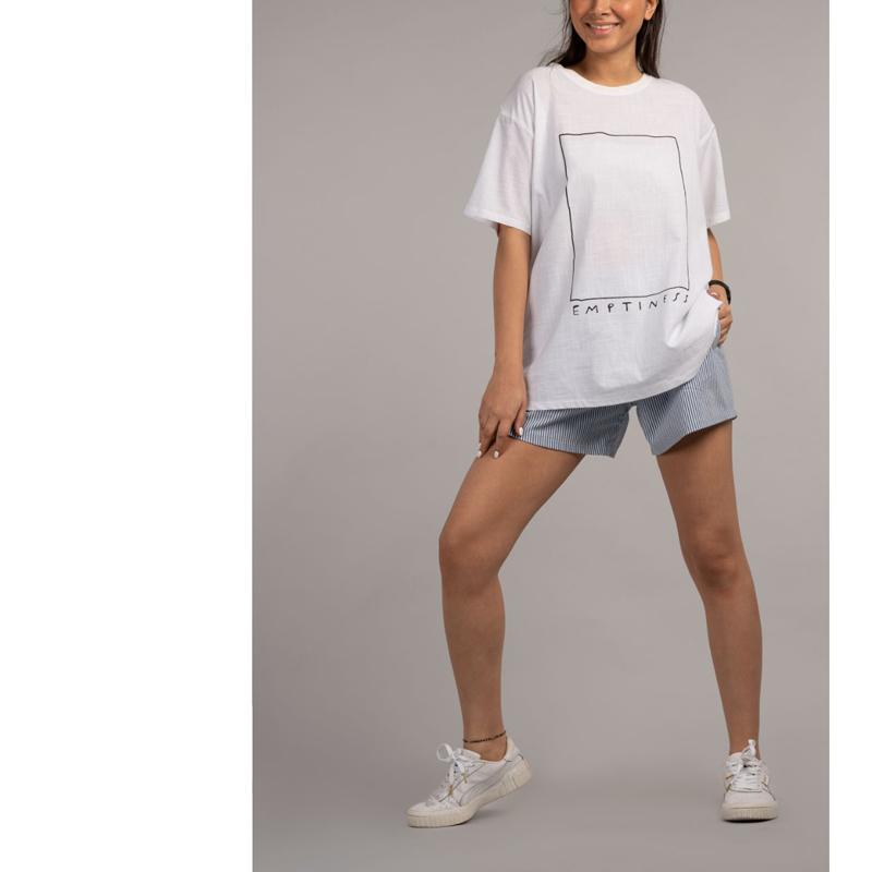 تیشرت زنانه مدل لش 46072